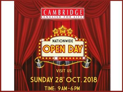 Cambridge English for Life Kota Damansara Open Day