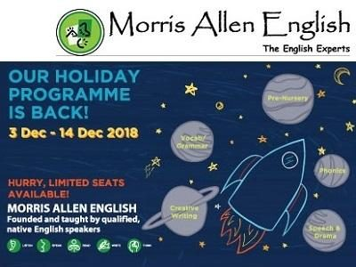 Morris Allen English Holiday Programme