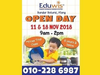 Open Day @ Eduwis, Bandar Botanic