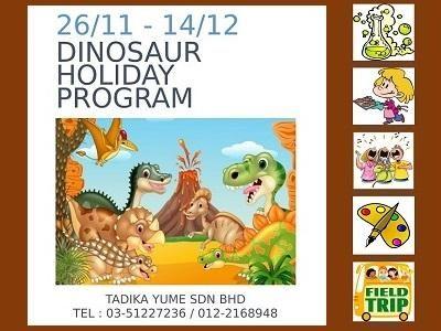 Dinosaur Holiday Program @ Tadika Yume, Kota Kemuning