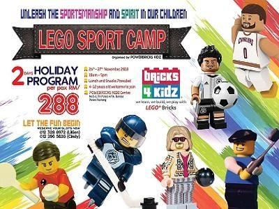 Powerbricks Kidz Lego Sport Camp