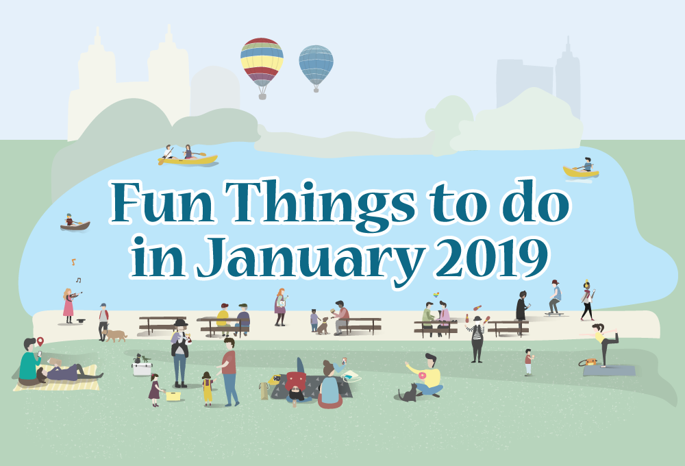 Fun Things to do with Kids in January 2019