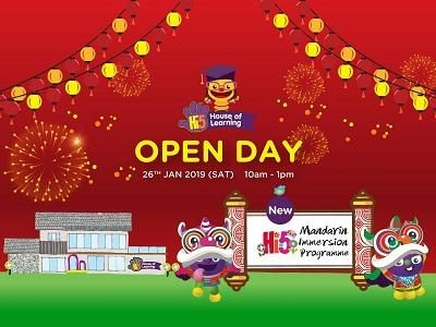 Hi-5 House of Learning - Chinese New Year Open Day