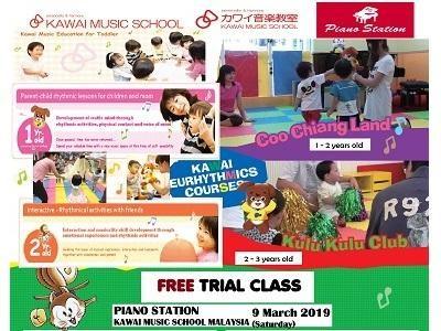 Free Music & Movement Trial Class @ Piano Station Kawai Music School