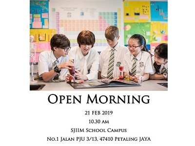 St. Joseph's Institution International School Malaysia Open Morning