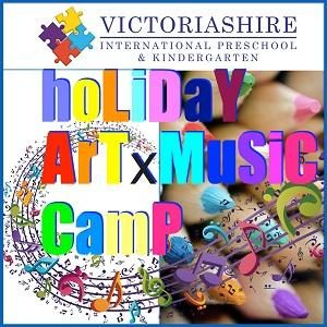 Victoriashire Holiday Art & Music Camp