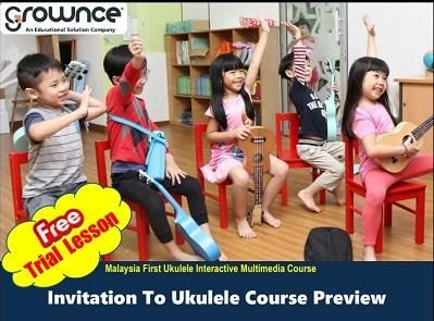 Invitation to Ukulele Course Preview - Tadika Dunia Ria Kanak-Kanak
