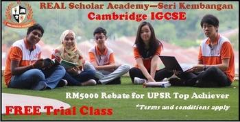 Real Scholar, Seri Kembangan