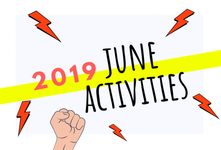 Combating June 2019 With More Activities