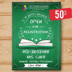 2019-2020 New Academic Year Registration @ Victoriashire International Preschool
