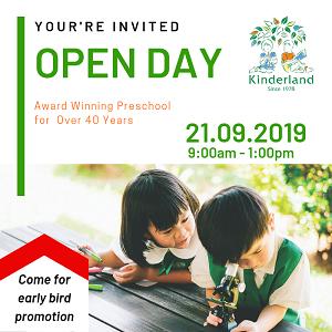 Open Day @ Kinderland Damai Perdana