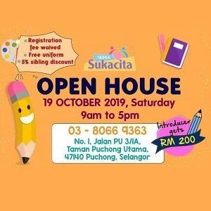 Open House @ Taska Sukacita, Puchong