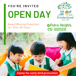 Open Day @ Kinderland Putra Heights