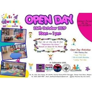 Open Day @ Just Awesome Day Care Centre, Setia Alam