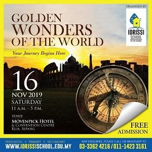 IDRISSI Golden Wonders of The World Exhibition @ Movenpick Hotel & Convention Centre KLIA, Sepang