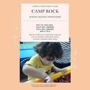 Camp Rock 2019 @ Junior Champs, Mont Kiara