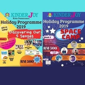 2019 Year-End School Holiday Programmes @ Tadika KinderJoy, Kota Damansara