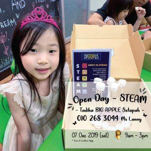 STEAM Open Day @ BIG APPLE Setapak