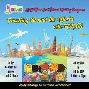 Travelling Around The World with HiKaRi @ HiKaRi Education, Bukit Jalil