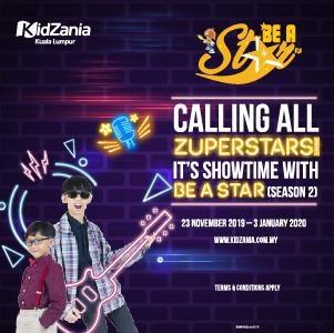 Be A Star Programme @ KidZania Kuala Lumpur