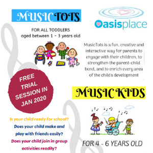 Music Programme - Free Trial Session @ Oasis Place
