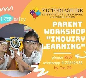 "FREE Parent Workshop ""Inquiry Learning"" @ Victoriashire International Preschool"