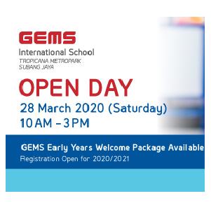 Open Day @ GEMS International School, Tropicana Metropark, Subang Jaya