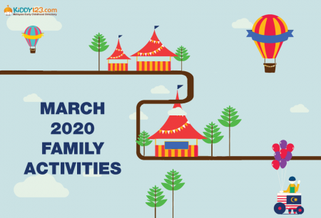 Super Fun School Holiday Programmes This March 2020!