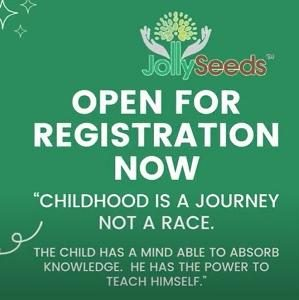 Free Registration @ Jolly Seeds Educare, USJ (Subang Jaya)
