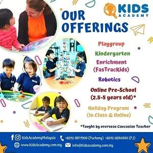FREE Trial - Online English Preschool @ Kids Academy Malaysia