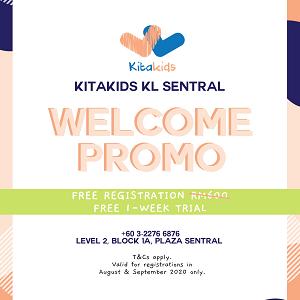 Welcome Promo @ Kitakids KL Sentral