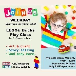 Lego Bricks Play Class @ My Bricks4Kidz, Damansara Perdana (Petaling Jaya)