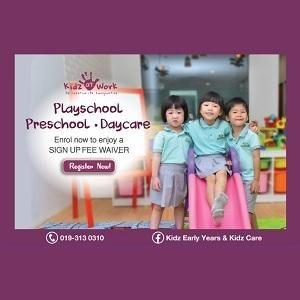 Registration @ Marvels Kidz At Work Preschool, Bukit Jalil