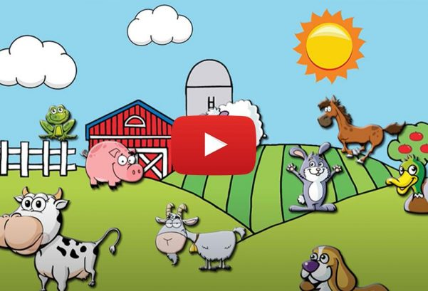 Kids Learning Videos—Find the Farm Animals! Farm Animal Video for Kids