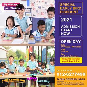 Open Day @ Nanny's Preschool & Kindie, Seri Kembangan