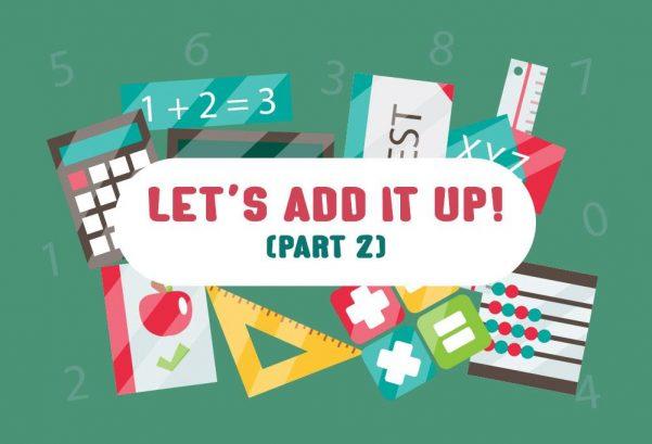 Let's Add It Up! (Part 2)