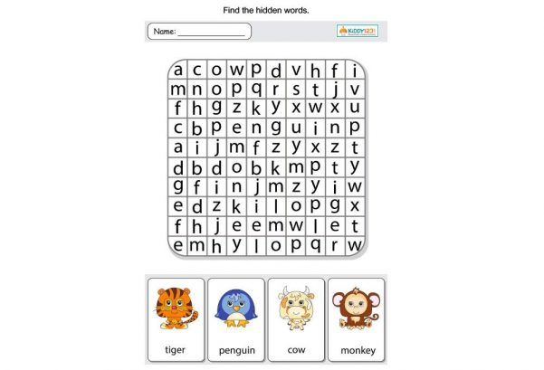 LANGUAGE - Word Search