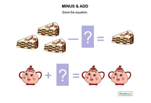 MATHS _ Minus & Add