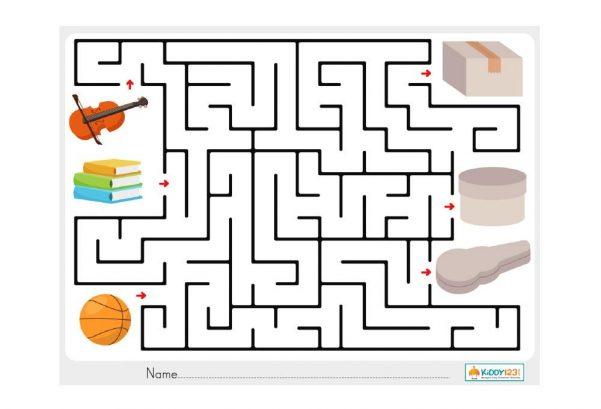 LOGIC - Box Maze