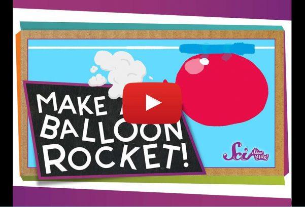 SciShow Kids: Make a Balloon Rocket