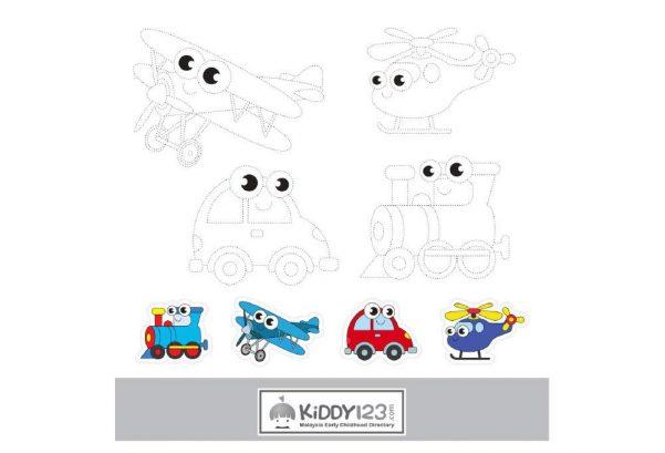 ART - Colouring Vehicles