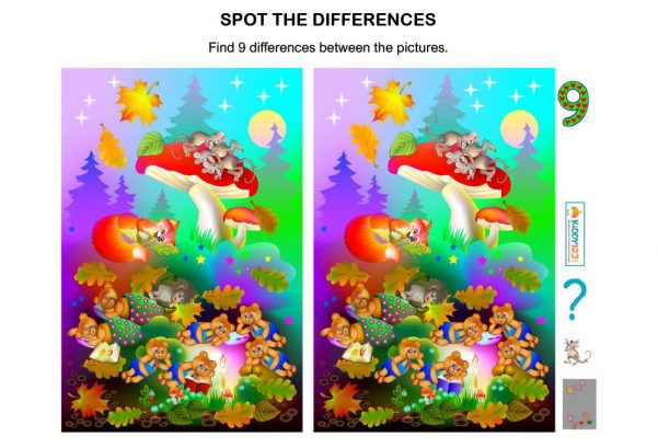JUST FOR FUN - Spot The Differences