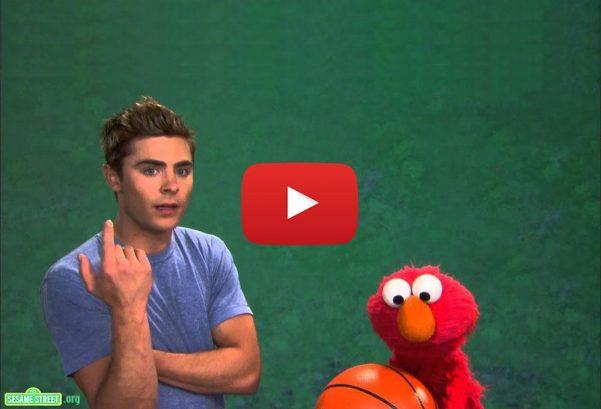 Sesame Street: Zac Efron and Elmo - Patience
