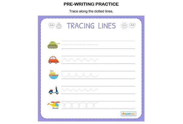 LANGUAGE - Pre-writing Tracing