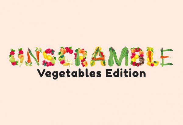 Unscramble - Vegetables Edition