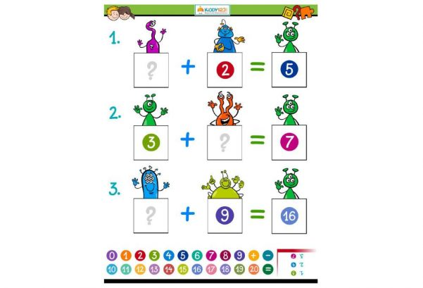 NUMBERS - Solve the Equation