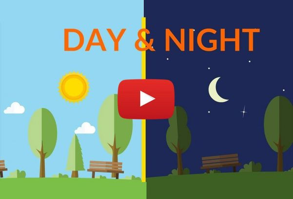 Learning Junction: Day and Night || video for kids