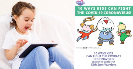 Restless Kids at Home? Teach Them About COVID-19 With This FREE Humorous Quiz