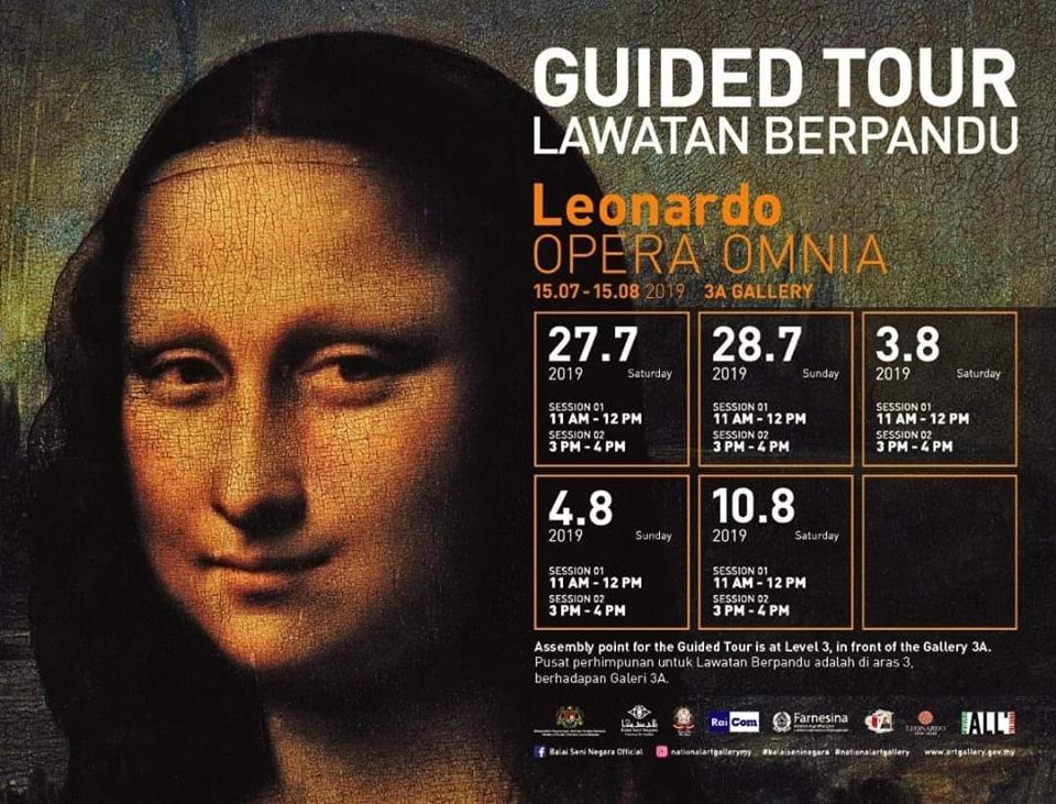 Leonardo Da Vinci Opera Omnia Exhibition