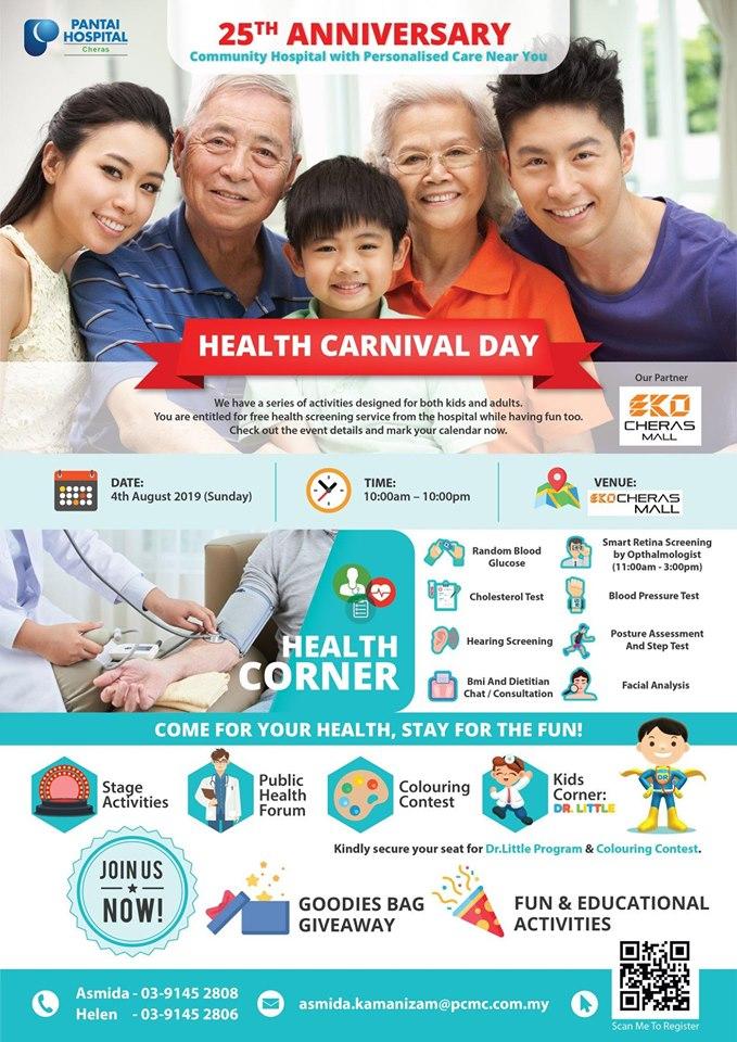 Pantai Hospital Cheras Health Carnival Day
